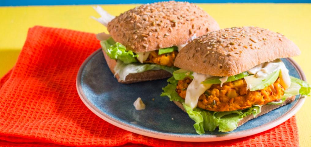 Veggie & Bean Burgers
