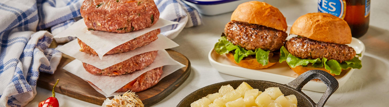 NY Style Burger Rissole Mix