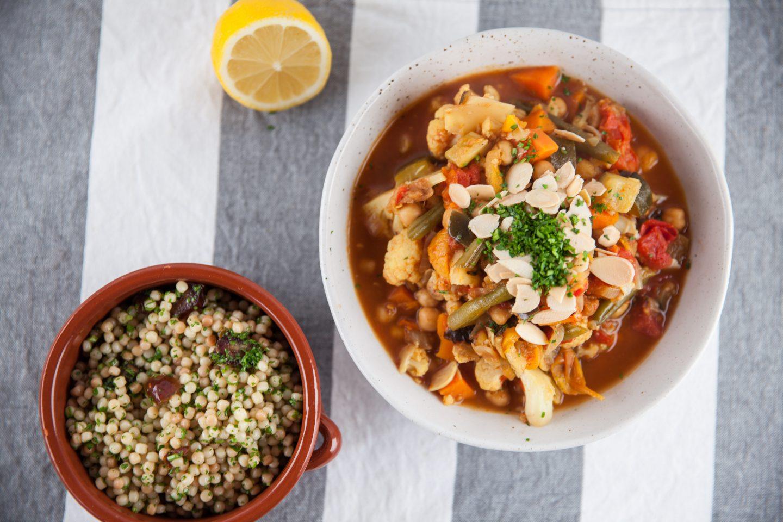 Moroccan Vegan Vegetable Tagine