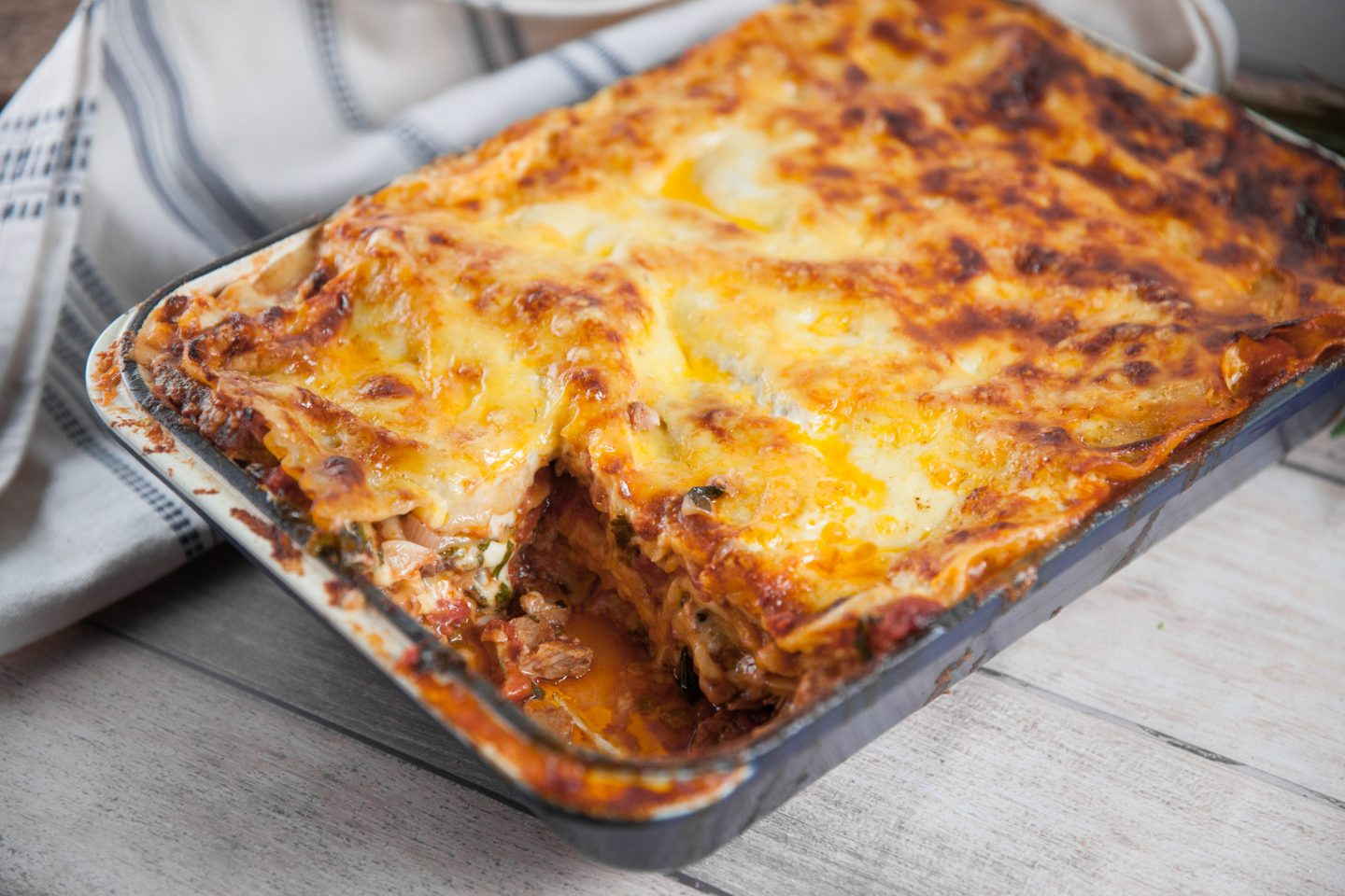 Meat Lovers' Lasagne