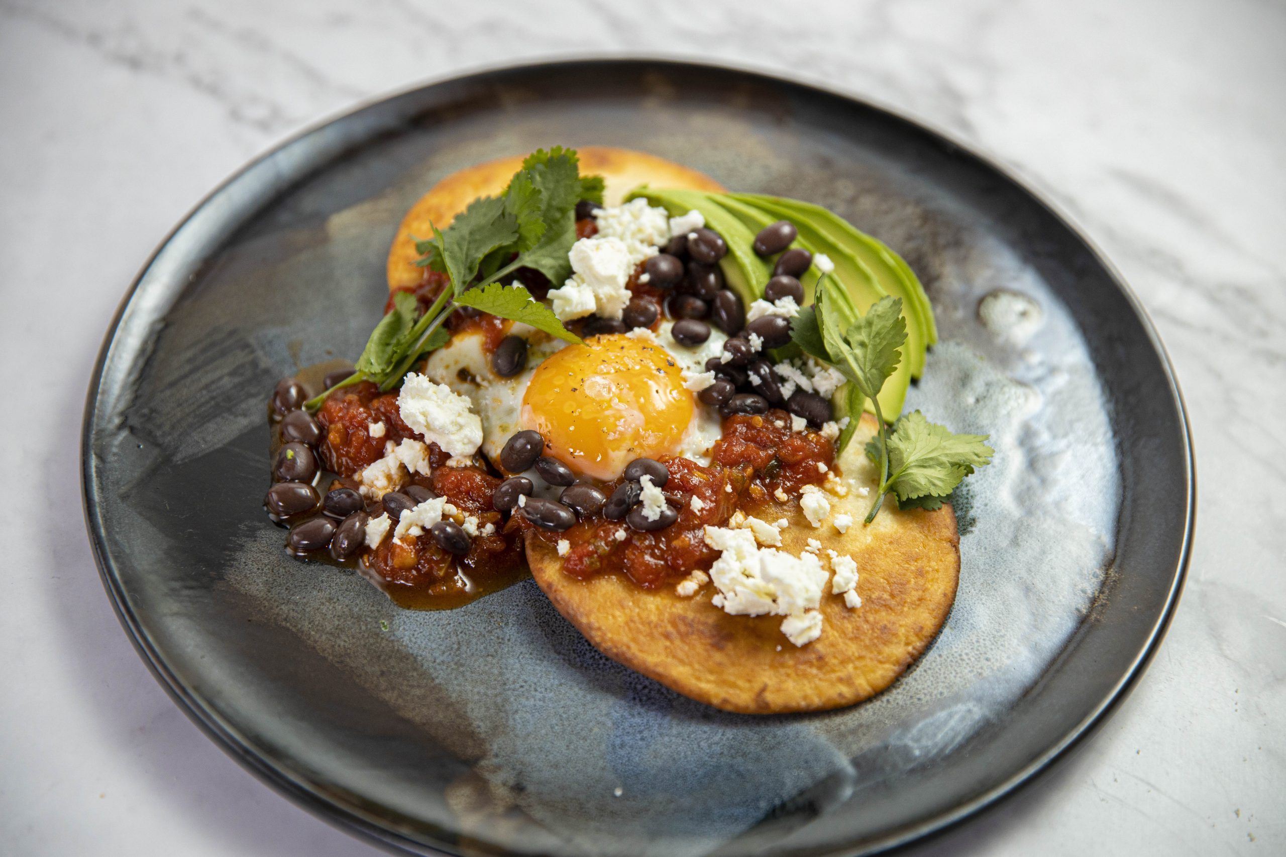 Mexican Fried Eggs with Zingy Tomato Sauce